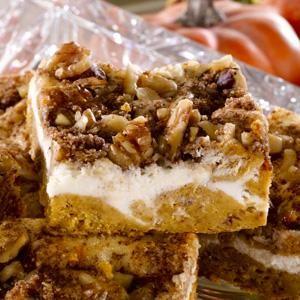 Americké koláčky - Pumpkin Cream Cheese Coffee Cake