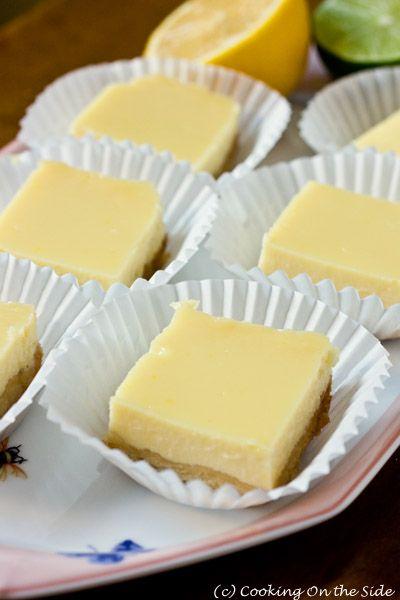 Americké koláčky - Creamy Lemon-Lime Bars