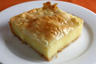 Galaktobourcko-greek pastry