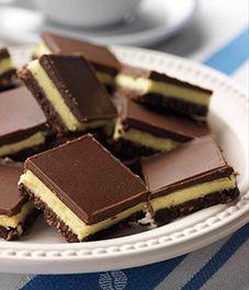 Americké koláčky - Nanaimo bars