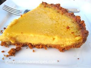 Pastel de Mango (Mango Pie)