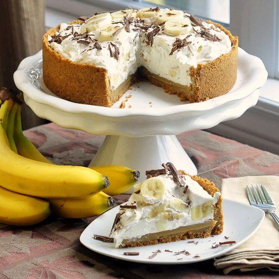 Americké koláčky - Banoffee Pie