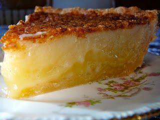 Americké koláčky - Buttermilk Pie