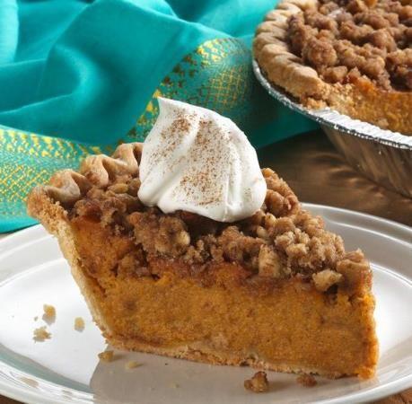Americké koláčky - Cinnamon Streusel Sweet Potato Pie