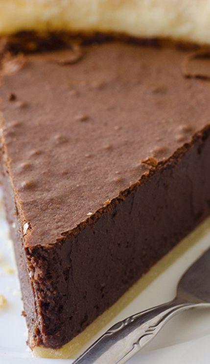 Americké koláčky - Chocolate Fudge Pie