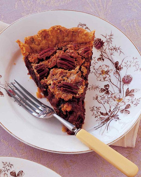 Americké koláčky - Chocolate-Bourbon-Pecan Pie