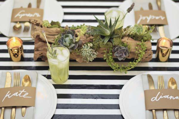 Hezké stolování aneb inspirace na výzdobu stola - Obrázek č. 12