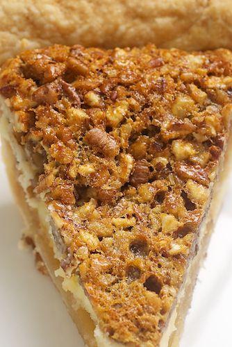 Americké koláčky - Pecan Cheesecake Pie