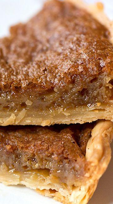 Americké koláčky - Southern Brown Sugar Pie