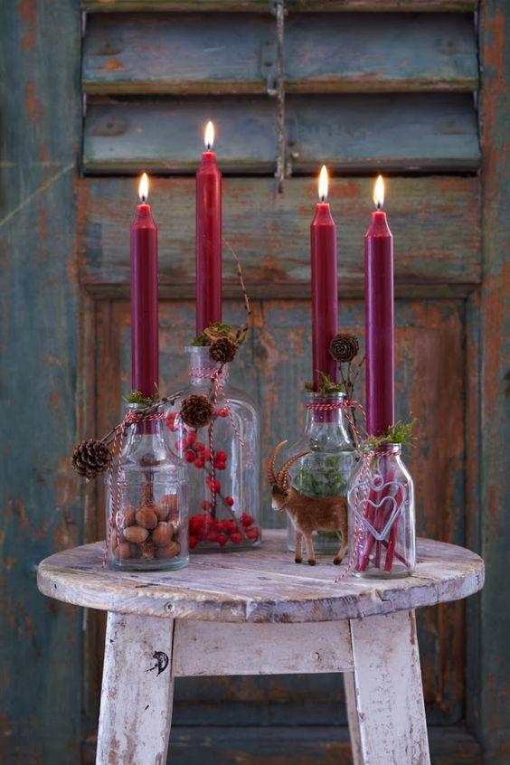 """Adventní """"věnce"""" aneb udělejte si hezkou výzdobu adventního stolku - Obrázek č. 40"""