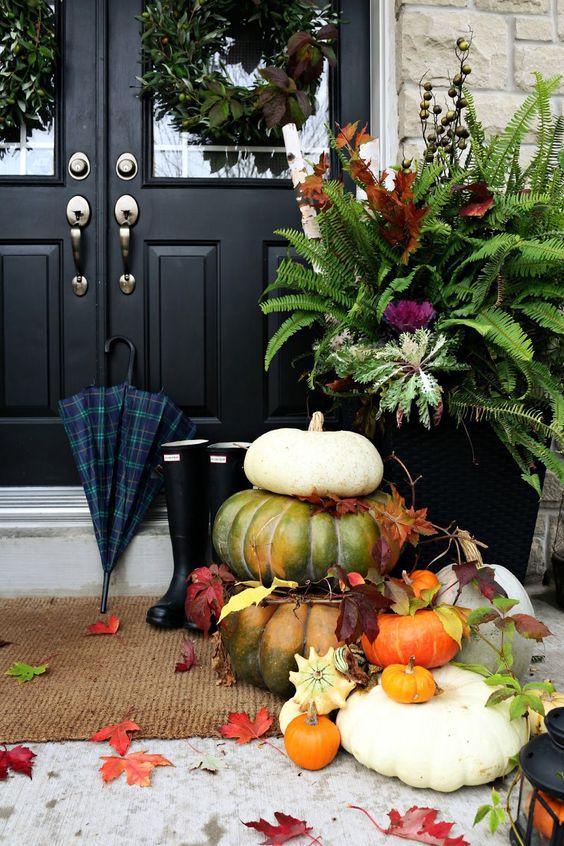 Dveře v podzimním hábitu - Obrázek č. 108