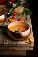 Krémová tomatová polévka
