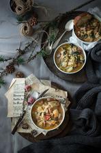 Zimní fazolová polévka