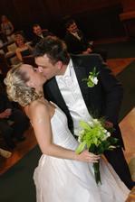 první (manželský)polibek