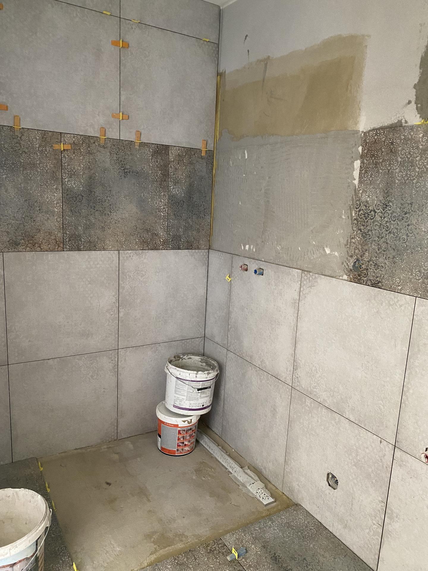 RD NZ - Sprchový kút v procese . ..