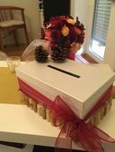 Pokladnička, krabice na dary, korek a šíšky,