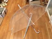 Deštník průhledný - 2ks,