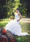 Luxusní svatební šaty se spodničkou vel. 36-38, 38