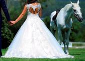 Exkluzivne svadobne saty na predaj, 38