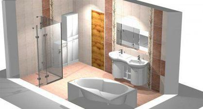 takto by mala vyzerat naša kúpelna...