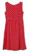 Červené retro šaty vel. M, 38
