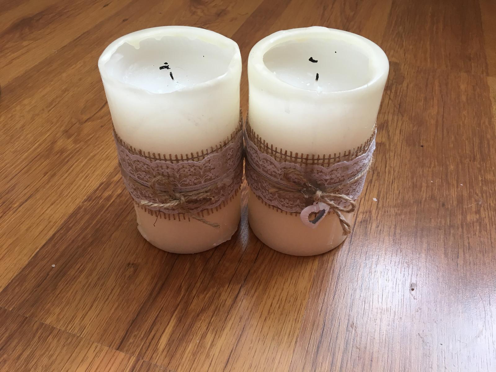 Ozdobné sviečky - Obrázok č. 3