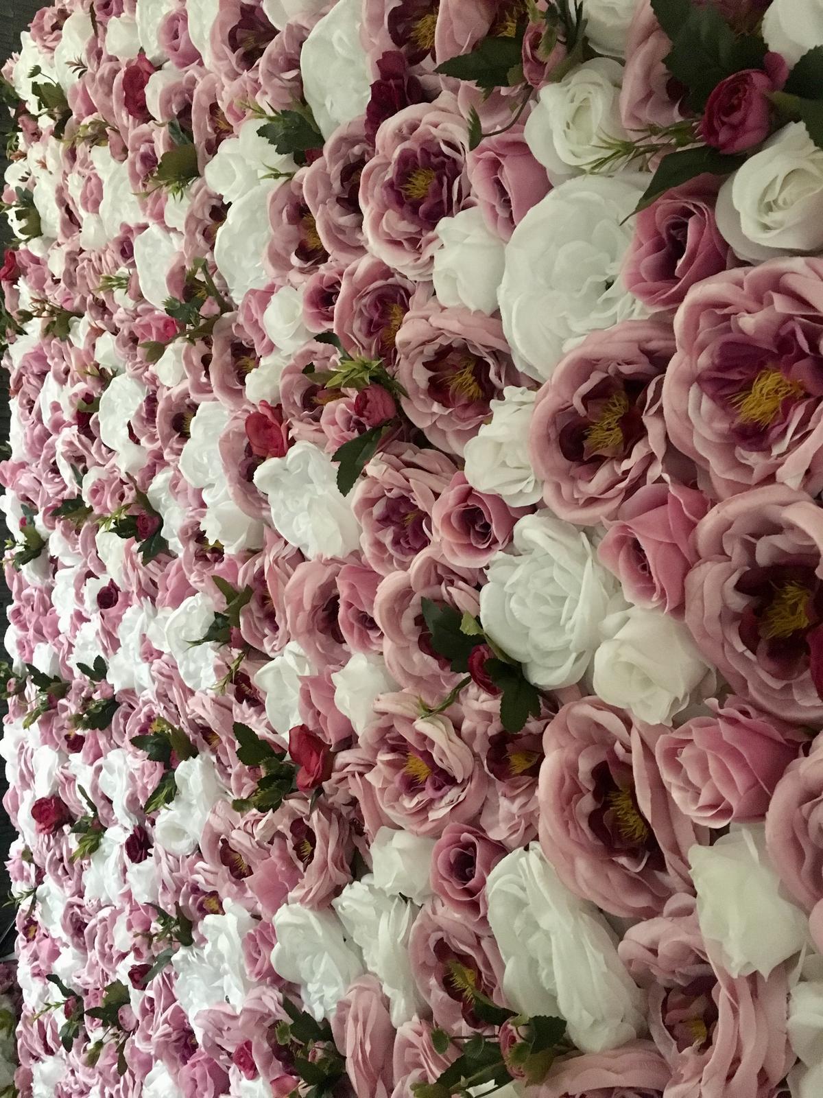 kvetinová fotostena - Obrázok č. 4