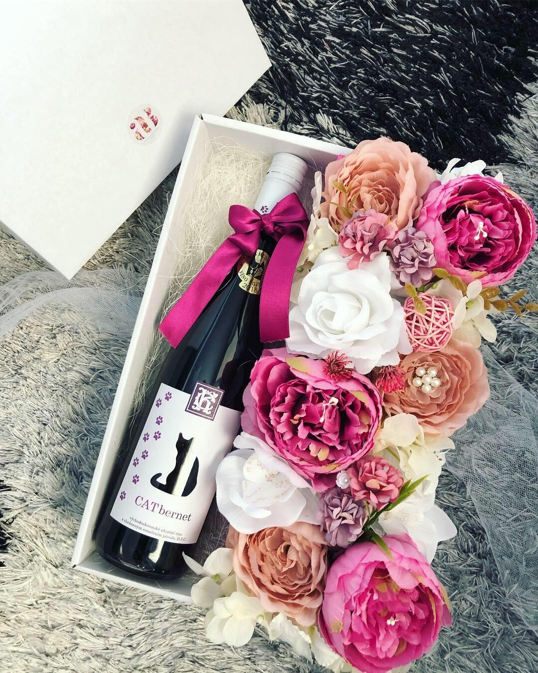 Kvetinové krabičky, darčeky pre druzicky  - Obrázok č. 1