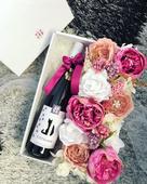 Kvetinové krabičky, darčeky pre druzicky ,