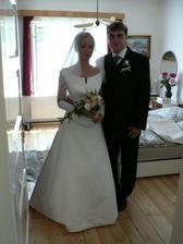 Ráno ještě u rodičů nevěsty