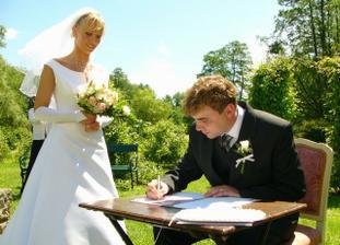 Podpis ženicha