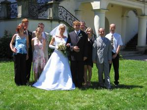 Kamarádi z manželovi strany