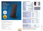 Fotovoltaicke panely GS-55 / Solarny panel 55W ,