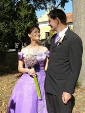 novomanželé Mrázkovi