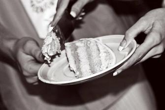 dortík šel špatně krájet, ale o to víc chutnal,foto: Lucie Rýglová