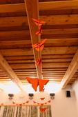 Origami girlandy motýlci,