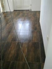 prvá podlaha v dome - chodba