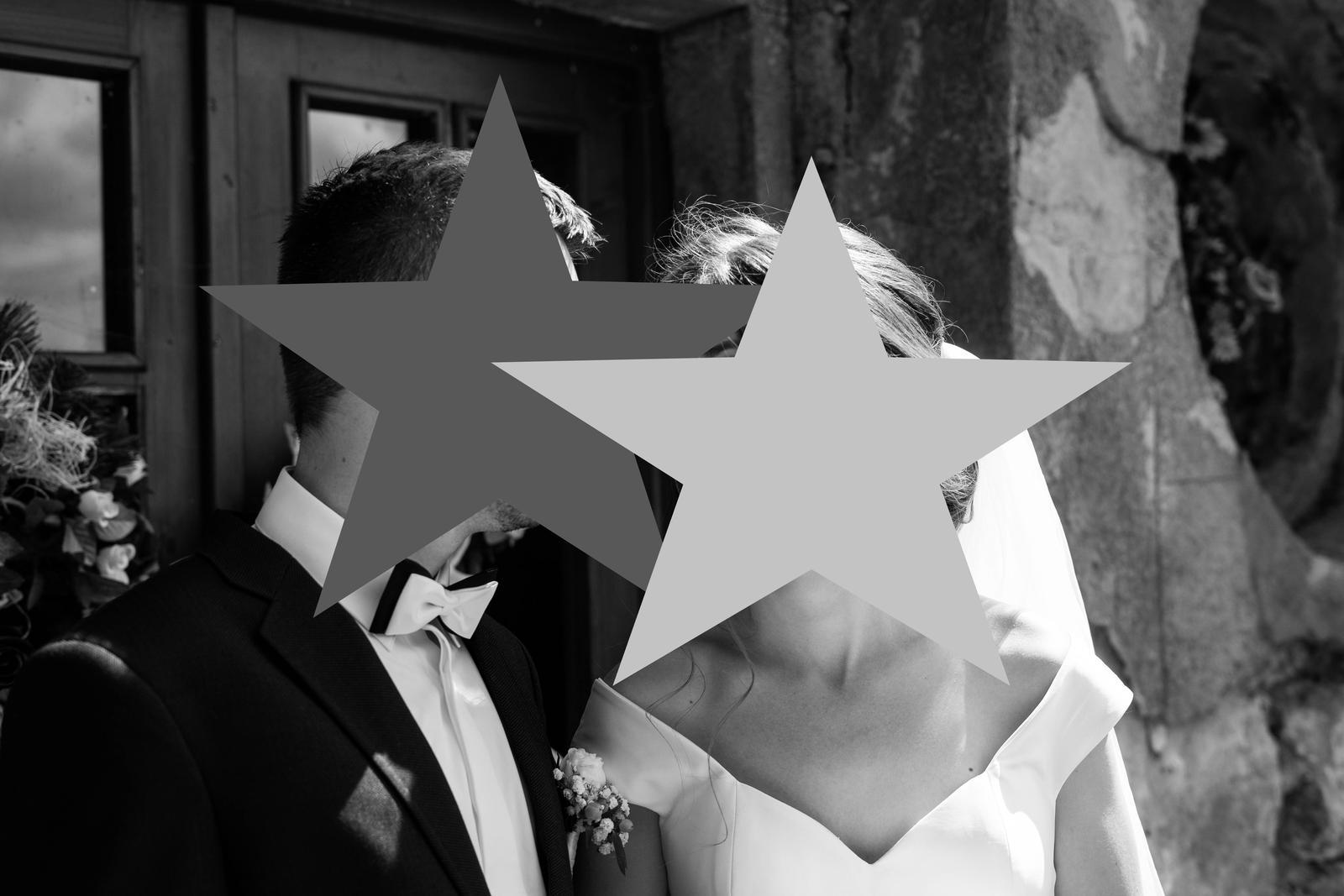 Saténové svadobné šaty - Obrázok č. 3