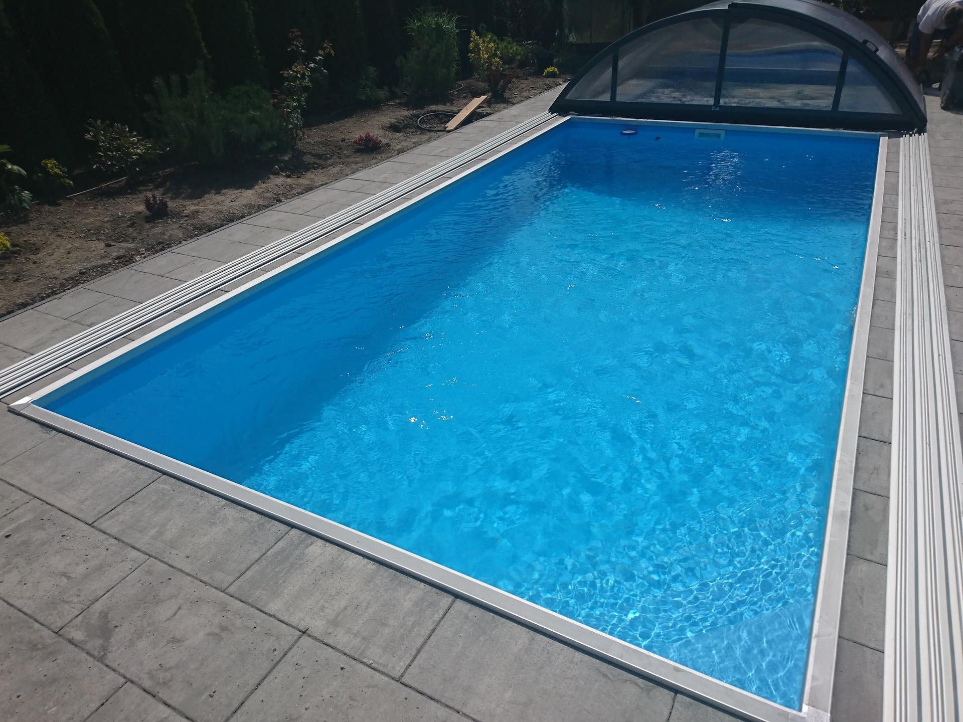Pooltime Bazén Skimmer + zastrešenie Nová Dedinka - Obrázok č. 3