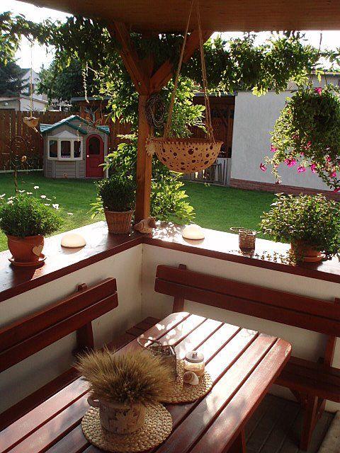 Terasa a zahrada - inšpirácie - Mám chuť tu sedieť.