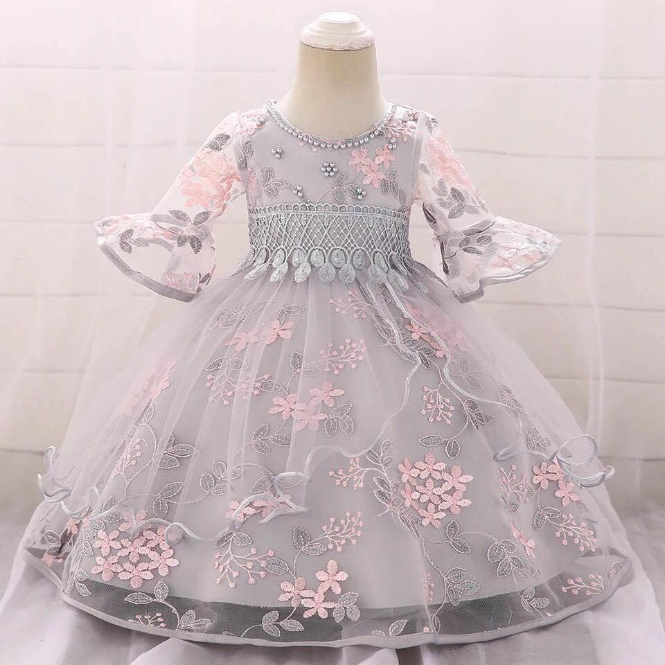 Detské šaty L5015XZ - skladom, naša 80 - Obrázok č. 1