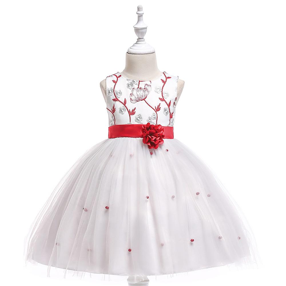 Detské šaty L5022 - naša 104, skladom - Obrázok č. 1