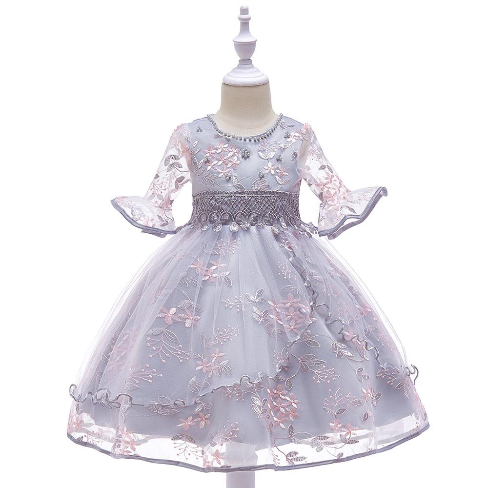 Detské šaty L5015 - naša 110, skladom - Obrázok č. 1