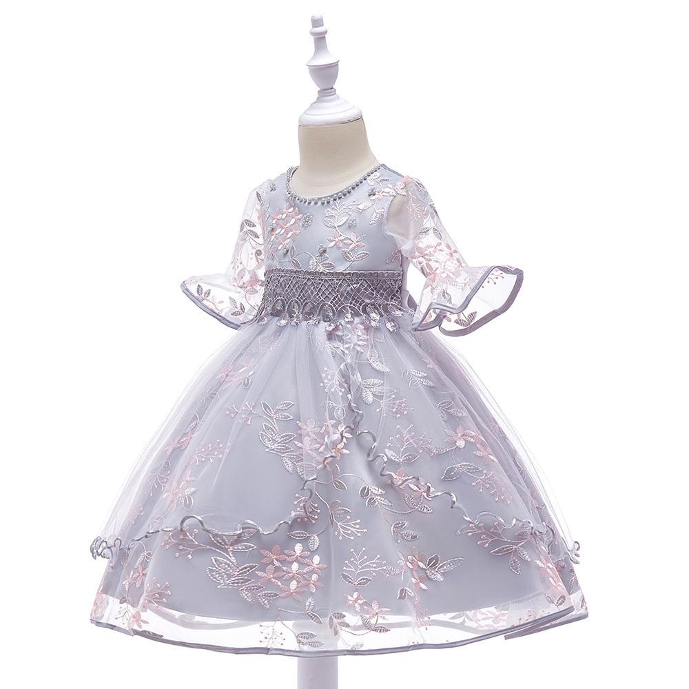 Detské šaty L5015 - naša 110, skladom - Obrázok č. 2