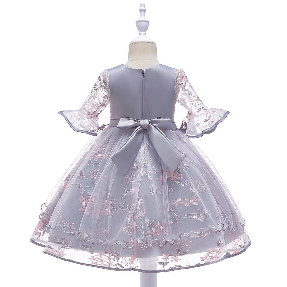 Detské šaty L5015 - naša 110, skladom - Obrázok č. 3