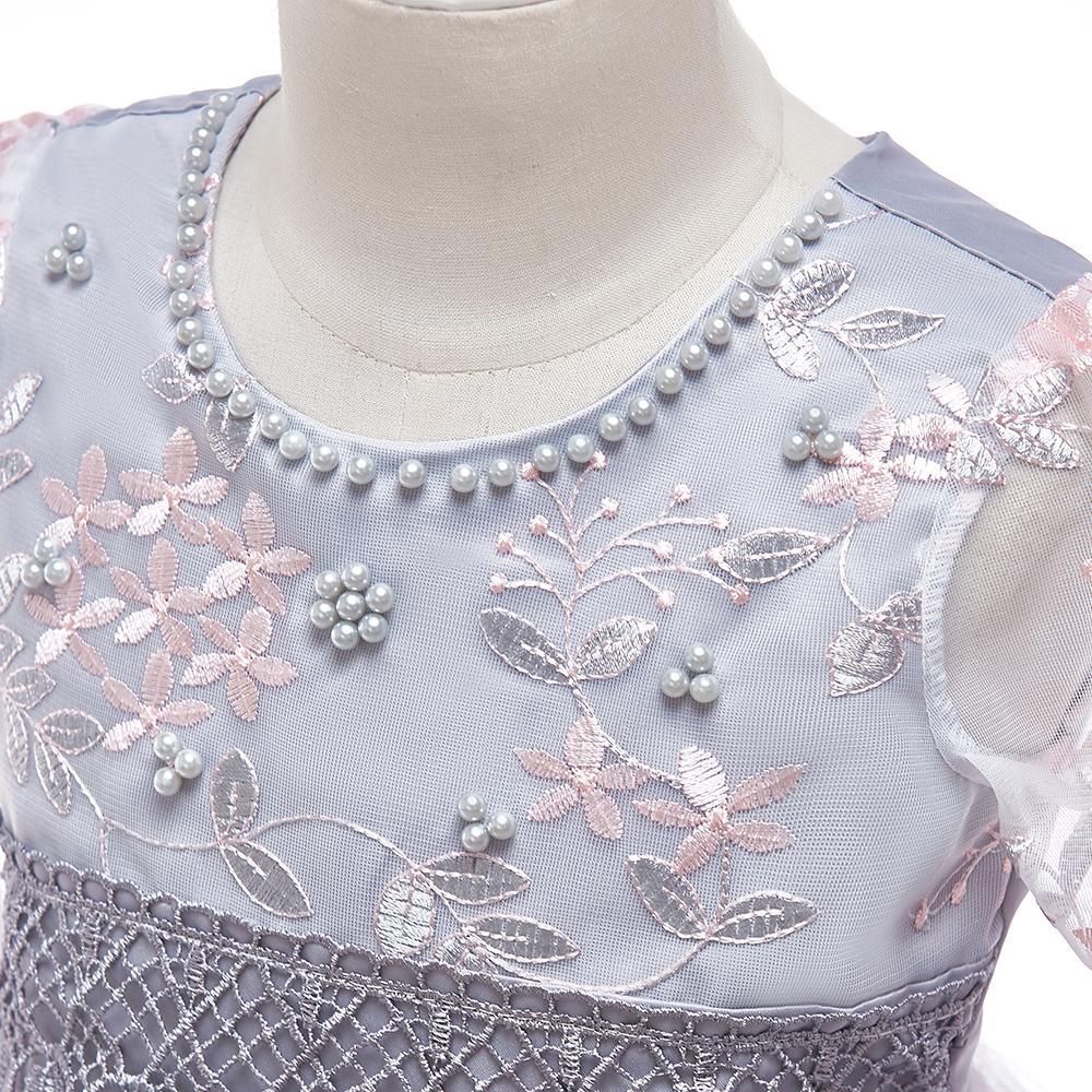 Detské šaty L5015 - naša 110, skladom - Obrázok č. 4
