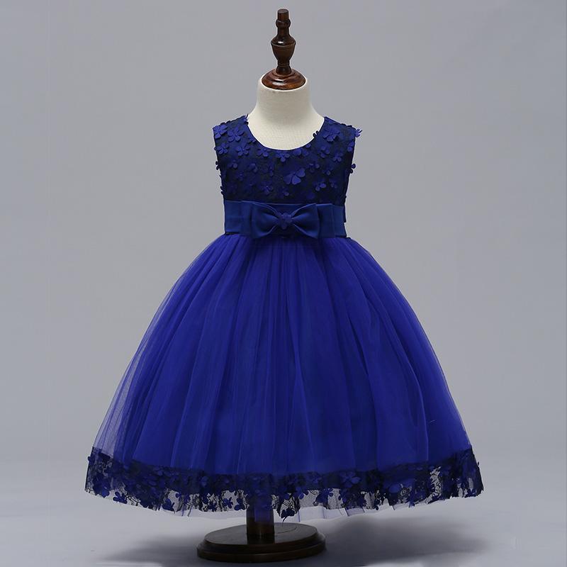 Detské šaty L314 - naša 104, skladom - Obrázok č. 1