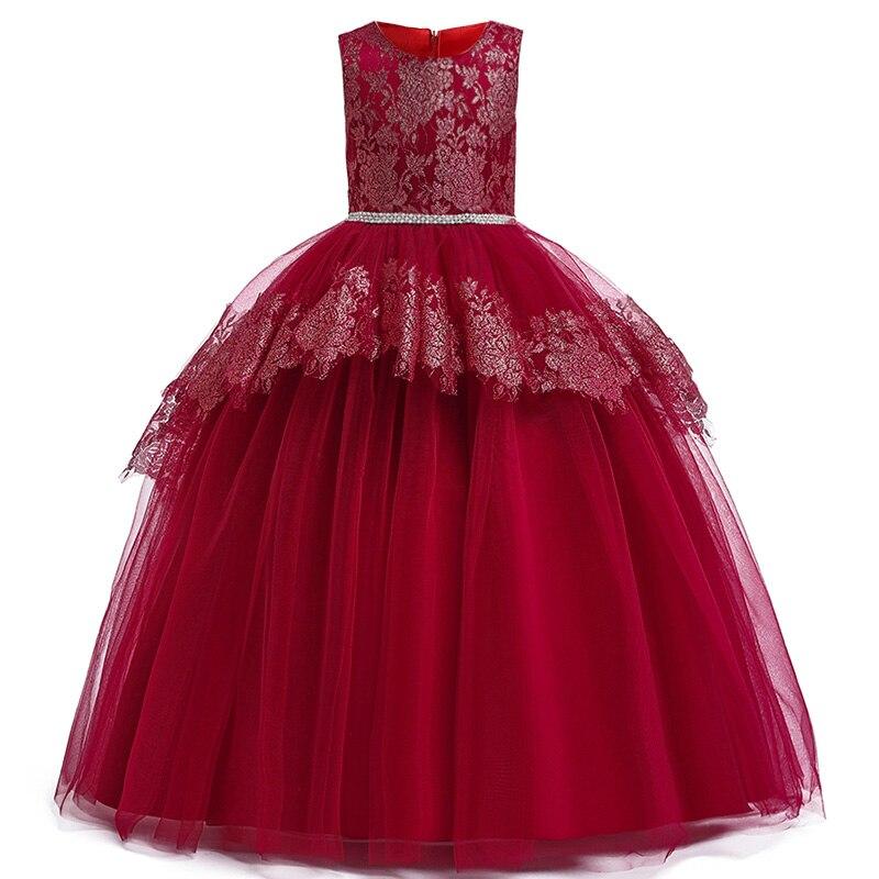 Detské šaty LP230 - naša 134, skladom - Obrázok č. 1