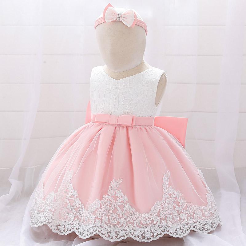Detské šaty L1911XZ - naša 80, skladom - Obrázok č. 2
