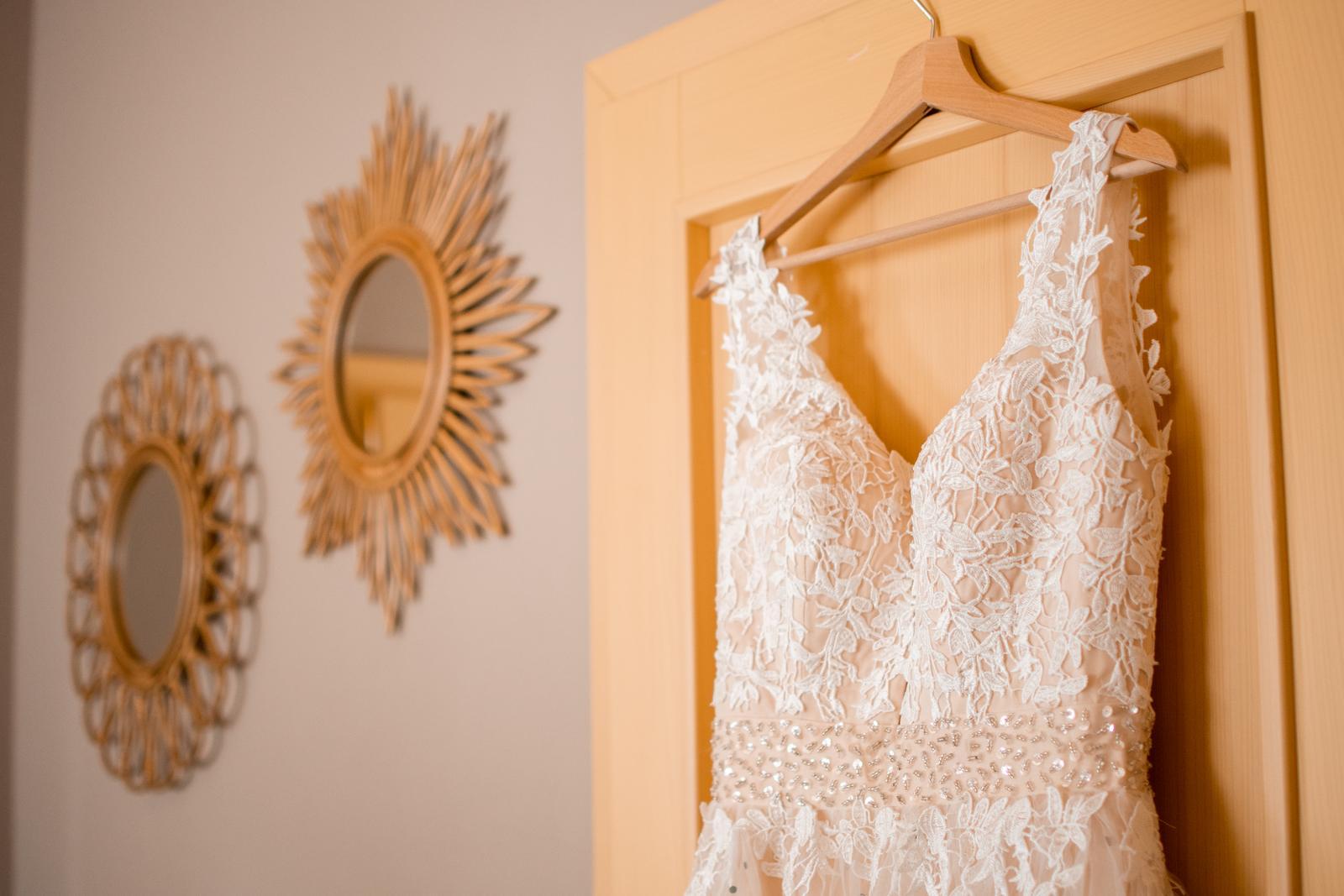 Boho svatební šaty vel. 38-40. - Obrázek č. 2